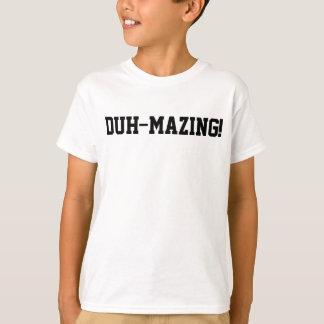 Sarcastic Duh-Mazing Amazing Funny Kid Tshirts