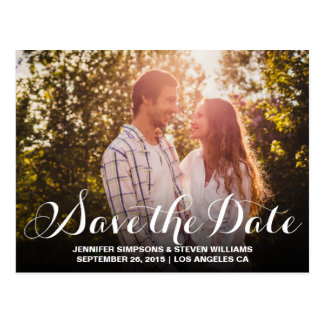 SAVE OUR DATE   SAVE THE DATE ANNOUNCEMENT POSTCARD