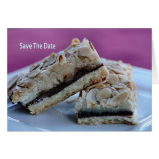 Save The Date - Food Greeting Card