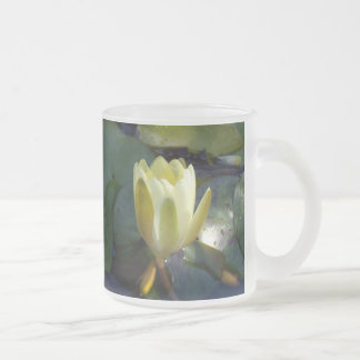 Save The Date Frosted Glass Mug