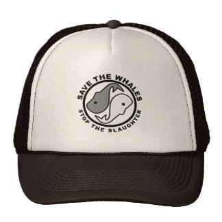 Save the Whales - Animal Rights Cap