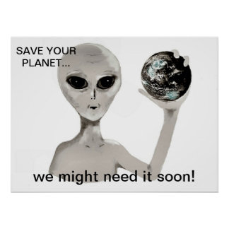Save Your Planet Poster