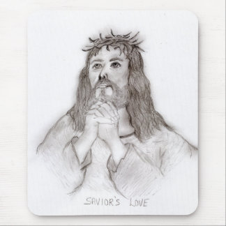 Savior's Love Mouse Pad