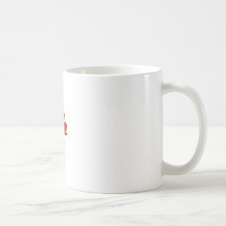 Scale of Justice - with heart Basic White Mug
