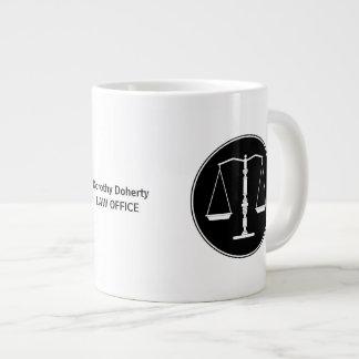 Scales of Justice Mug Jumbo Mug
