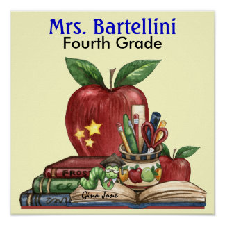 School / Teacher / Classroom Poster - SRF