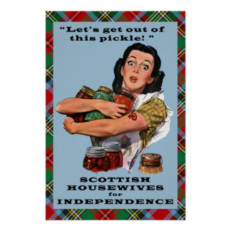 Scottish Women for Independence Poster