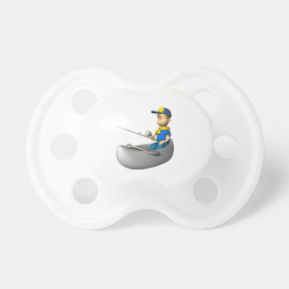 Scout Fishing Baby Pacifiers