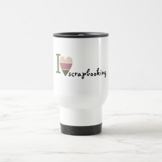 scrapbooking merchandise stainless steel travel mug