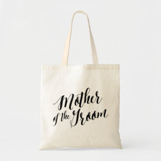 Script Tote | Mother of the Groom Budget Tote Bag