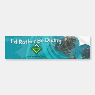 Scuba Diving Bumper Sticker