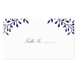Secret Garden Wedding Place Cards 100 pk Pack Of Standard Business Cards