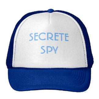 SECRETE SPY CAP