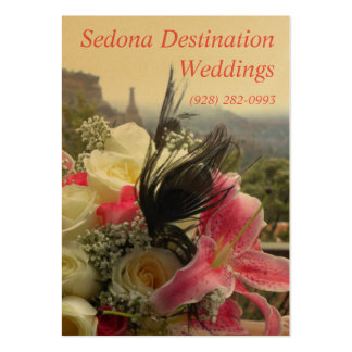 Sedona Destination Weddings Wedding Planner Card Pack Of Chubby Business Cards