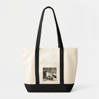 Sentenced to Transportation, plate 6 of 'The Drunk Impulse Tote Bag
