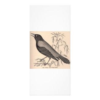 Sepia Crow Full Color Rack Card