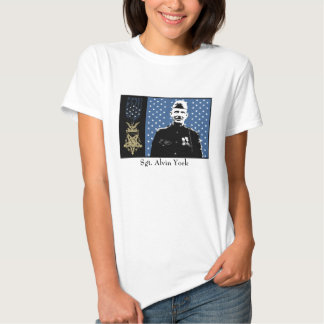 Sergeant Alvin York and Medal of Honor T-shirts