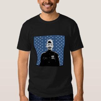 Sergeant Alvin York and MOH Flag T Shirt