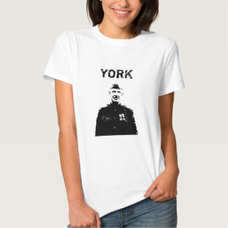 Sergeant York T-shirts