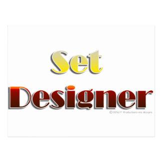 Set Designer (Text Only) Postcard
