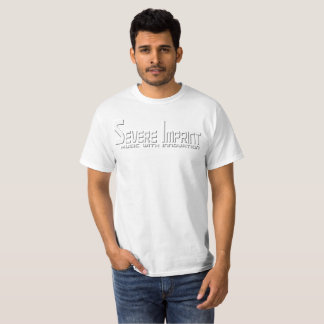 Severe Imprint Logo Design White T shirt