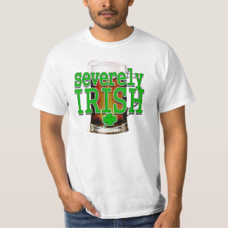 """Severely irish"" Lager Tee"