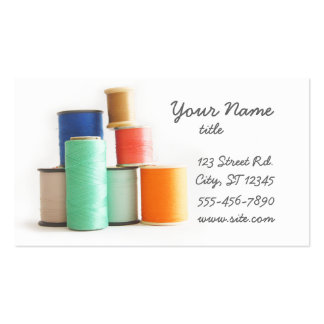 Sewing or Tailoring Business Cards