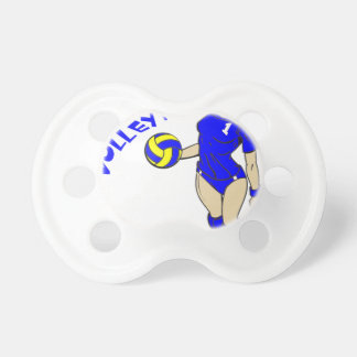 SEXY VOLLEY MOM PACIFIERS