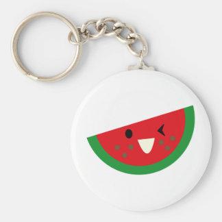SFruitP6 Basic Round Button Key Ring