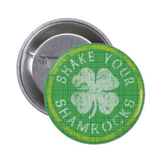 Shake Your Shamrocks Button