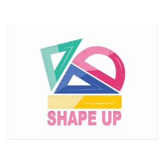 Shape Up Postcard