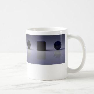 Shapes Basic White Mug