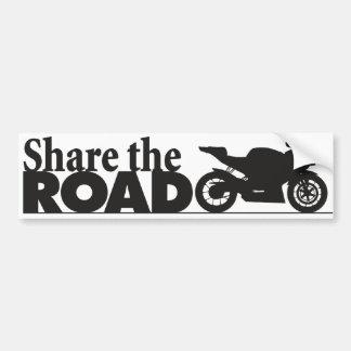 ShareTheRoad Bumper Sticker