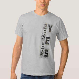 She Said Yes Marriage Proposal Engagement Shirts