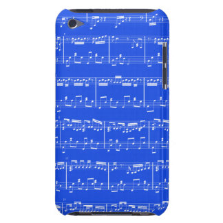 Sheet Music iPod Touch Royal Blue iPod Touch Covers