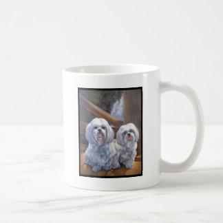 Shih Tzus Basic White Mug