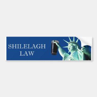 Shilelagh Law Bumper Sticker