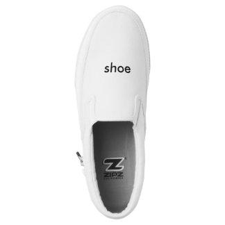 Shoe shoe printed shoes