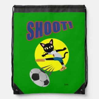 SHOOT! DRAWSTRING BAGS