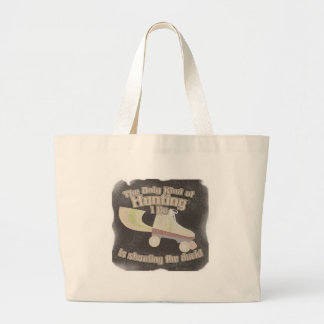 Shoot the Duck Jumbo Tote Bag