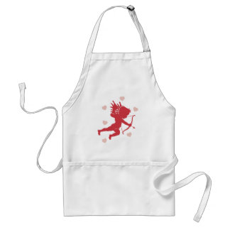 Shooting Cupid and Hearts Cooking Apron