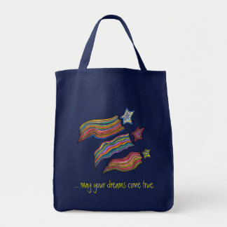 Shooting Stars Grocery Tote Bag