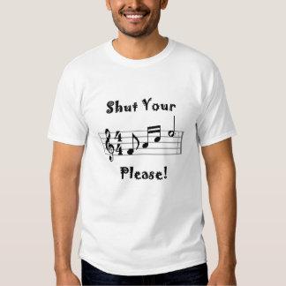 Shut Your Face Please 2 T-shirts