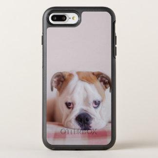 Shy English Bulldog Puppy OtterBox Symmetry iPhone 7 Plus Case