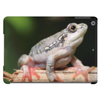 Side View Of Frog On Reed iPad Air Covers