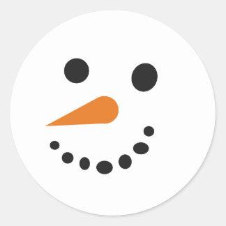 Silly Snowman Sticker