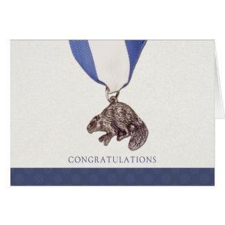 Silver Beaver Congratulations Card