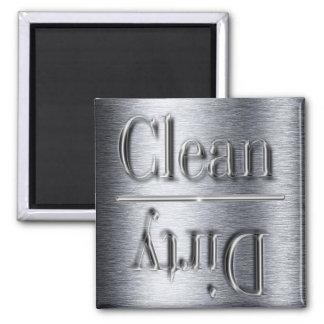 silver dishwasher magnet