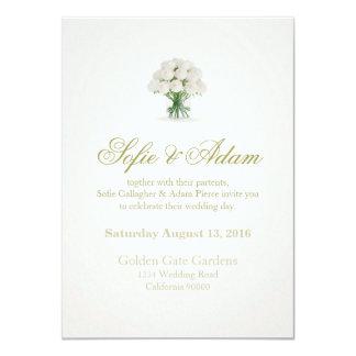 Simple Modern Wedding Invitation