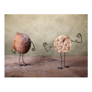 Simple Things - Power Food Postcard